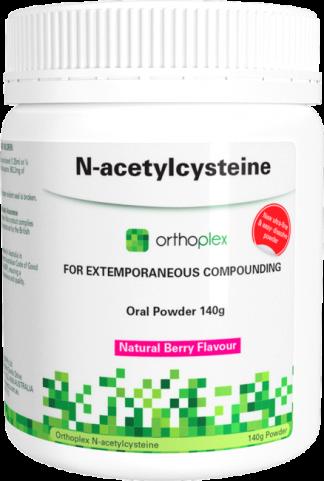 Orthoplex - N-Acetylcysteine - Natural Berry - 140 g -