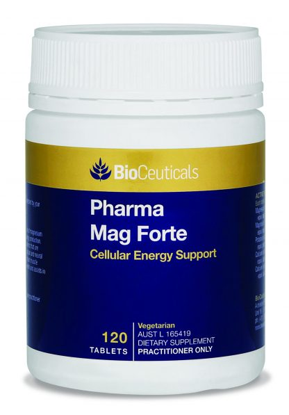 Boost Cellular Energy with Pharma Mag Forte - 120 Tabs