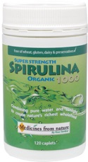 Energy galore with Spirulina - 120 caplets