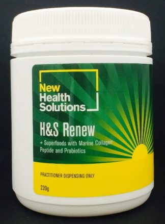 Hair and Skin with Marine Collagen Peptides H&S Renew Powder - 220g
