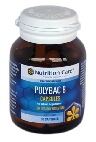 Polybac 8 - 30 Caps