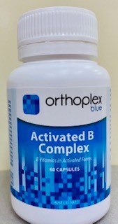 Nerves and Energy Galore with Activated B Complex - 60 Caps.