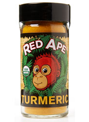 Turmeric Certified Organic - 48 g Shaker