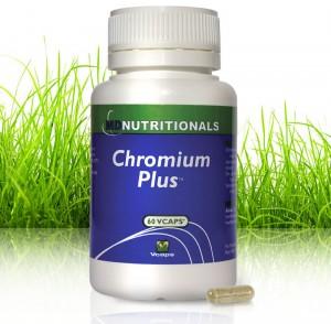 Improve Blood Sugar Regulation with Chromium Plus - 60 Veg. Capsules