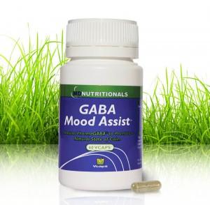 Improved Mood with GABA  Mood Assist - 60 Veg. Capsules