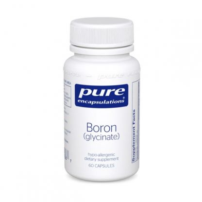 Gluten Free and Vegan Boron (glycinate) to Improve Bones Health  - 60 caps