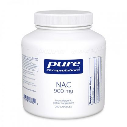 Vegan Gluten free N.A.C. for Detoxification - 900mg - 120 caps.