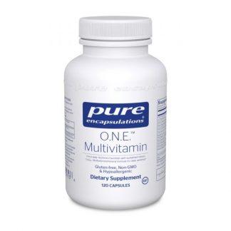 Gluten Free Vegan Multivitamin/Minerals O.N.E. - 60 caps
