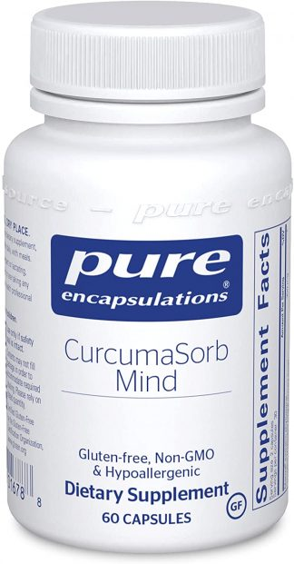 Sharpen your Mind with CurcumaSorb Mind - 60 caps - (in back-order)