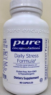 Get Rid of Stress with Daily Stress Formula - 90 caps