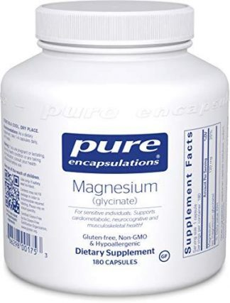 Vegan Magnesium Glycinate - 180 Capsules ( on backorder)