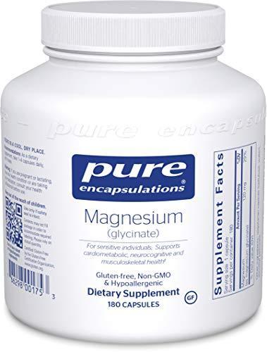 Vegan Magnesium Glycinate - 180 Capsules