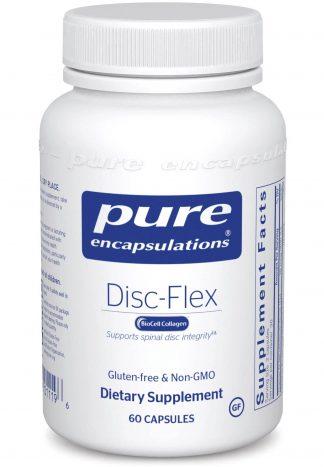 Vertebral Disc support with Gluten Free Disc-Flex - 60 caps