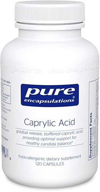 Healthy Microbiome with Caprylic Acid - 120 caps.