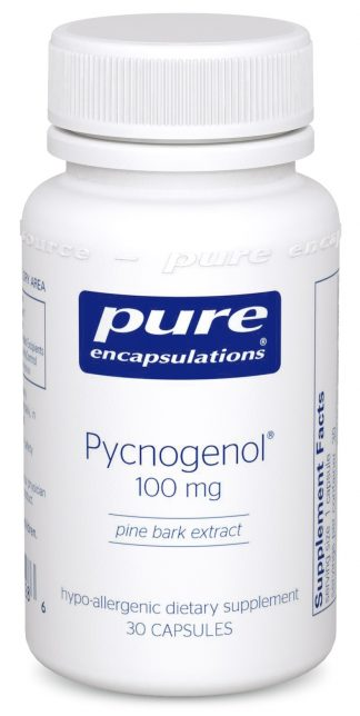Support Brain and Heart Function with Pycnogenol 100 mg - 30 caps