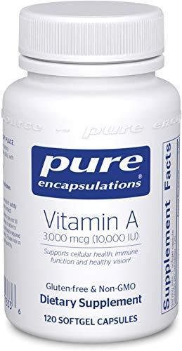 GMO Free Vitamin A - 10.000 IU - 120 caps