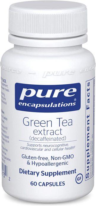 Decaffeinated Vegan Green Tea Extract -60 caps