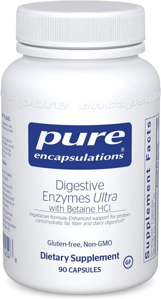Vegetarian Digestive Enzymes Ultra with Betaine HCL - 90 caps