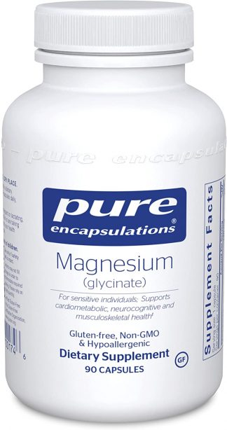 Vegan Magnesium Glycinate - 90 Capsules (on backorder)